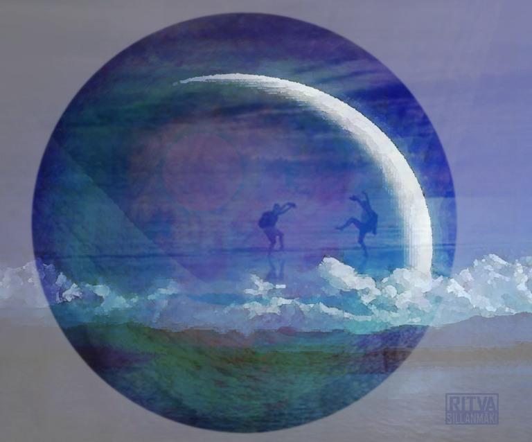 dancing under the moon