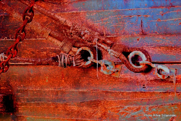detail of a ship