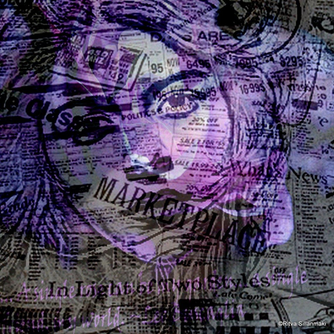 lilac , print