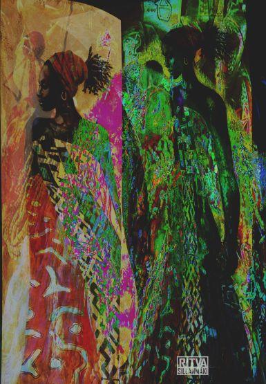 Africa theme art