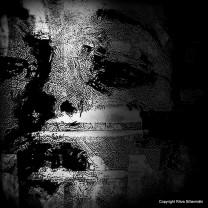 bw face